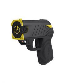 Taser Pulse with Laser Assisted Targeting