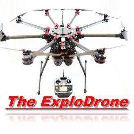 ExploDrone Drone IED Simulator