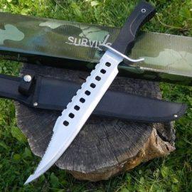 17″ Tactical Hunting Rambo Knife