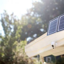 Lynx Solar Surveillance Camera with Facial Recognition, Motion Detection