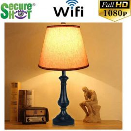 Secure Shot HD Spy Camera Antique Lamp