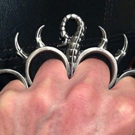 Scorpion Brass Knuckles