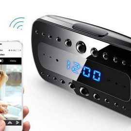 FREDI Hidden Camera Alarm Clock