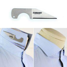 HemiSERE Titanium Lapel Knife