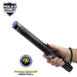 Police Force 12,000,000v Tactical Stun Baton Flashlight