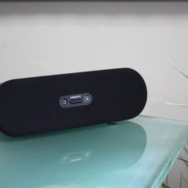 Zone Shield 4K Bluetooth Speaker Hidden Camera