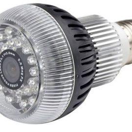 HCWifiBulb HD Night Vision Bulb Camera