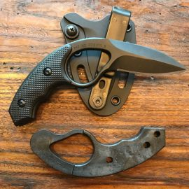 ColonelBlades NCO Lowvz Fixed Blade EDC Knife