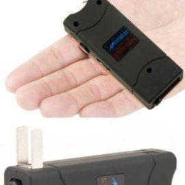 Monster Ultra Mini LED Stun Gun with Retractable Plug