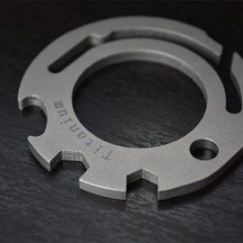 Hot Wheel Titanium Carabiner Multitool