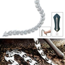Stainless Steel Chain Whip