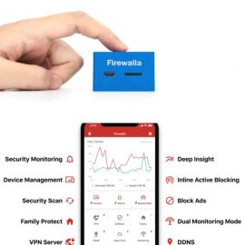 Firewalla Blue: Smart Firewall for Your Connected Home