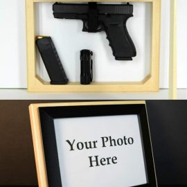 Photo Frame Hidden Gun Storage Case