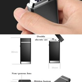 Double Arc Spy Camera Lighter