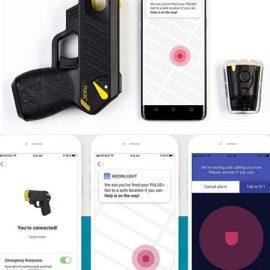 TASER Pulse+ Noonlight App Smart Stun Gun