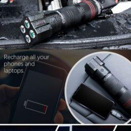 CarAIDE: Car Jump Starter, Phone Charger, Emergency Multitool