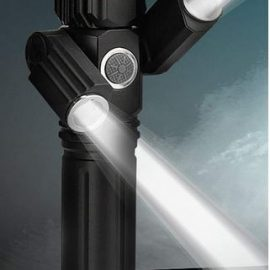 Three Head Electric Torch for Outdoors