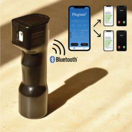 Plegium App Smart Pepper Spray with Siren, Strobe Light