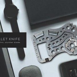 Hyper Thin 440 EDC Wallet Knife