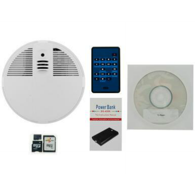 Smoke Detector Hidden Camera Spy Goodies