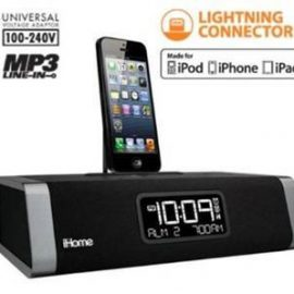 SecureShot HD-Live iPhone Docking Station Hidden Camera