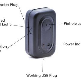 Power Adapter + Hidden Camera