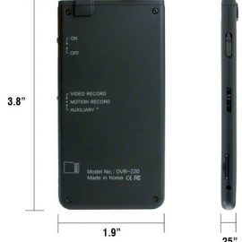 Recluse XT Micro Hidden Spy Camera
