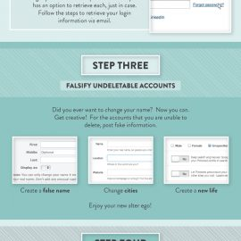 How to Disappear Online {Infographic}