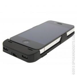iPhone Battery Case + Hidden Spy Camera