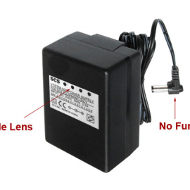 WiFi AC Power Adapter Hidden Camera