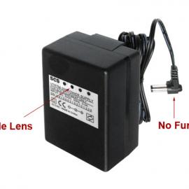 WiFi AC Power Adapter Hidden Camera