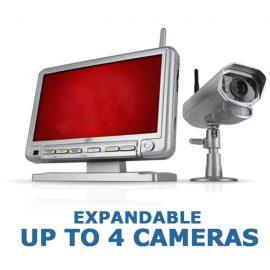 Digital Wireless Night Vision Security Camera w/ 7″ Monitor