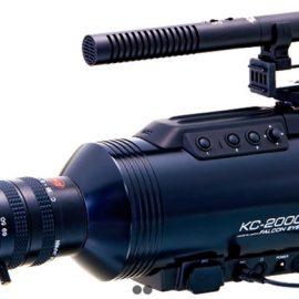 Komamura Falcon Eye KC-2000 Night Vision Camera Records in Color