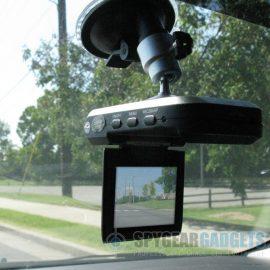 High Resolution Car Dash Camera Recorder w/ Flip Down Screen