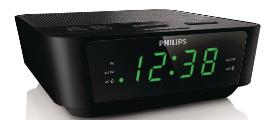 secureguard hd 720p philips alarm clock radio spy camera spy goodies. Black Bedroom Furniture Sets. Home Design Ideas