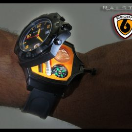 Recon 6: 14-in-1 Multi-tool Survival Watch