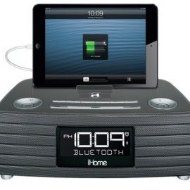 3rdEye iHome Bluetooth USB Docking Clock + Spy Cam