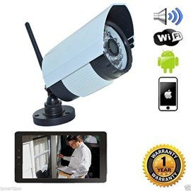iSmart WiFi IR Bullet IP Smartphone Security Camera