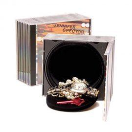 Hollow CD Case w/ Secret Container