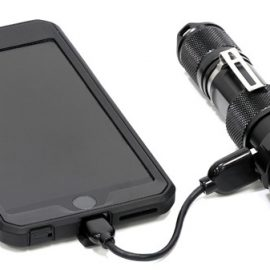 ZEROHOUR RELIC XR: Flashlight + Backup Battery