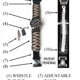 X Band Survival Watch