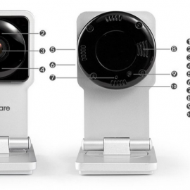 MeShare Wi-Fi Audio and Video Monitoring Security Solution