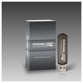 Kanguru 8GB Defender 2000 Encrypted Flash Drive