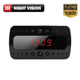 1080P HD Clock Hidden Spy Camera w/ Night Vision