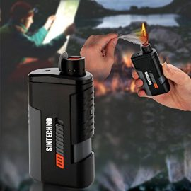 SINTECHNO Windproof Lighter + Power Bank + LED Flashlight