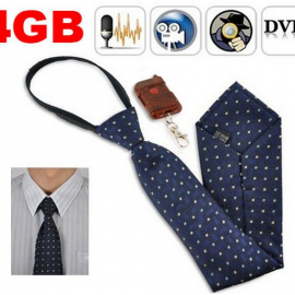 FUNOC 4G Hidden Necktie Covert Camera