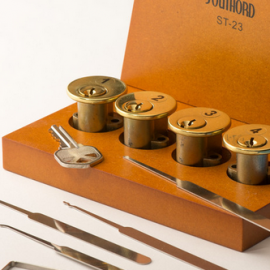 Lockpick School in a Box: Learn Picking Locks