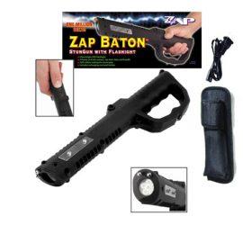 ZAP BATON Stun Gun w/ Flashlight