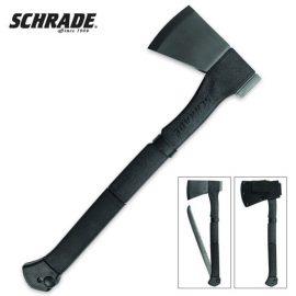 Schrade SCAXE9 Locking Saw Axe
