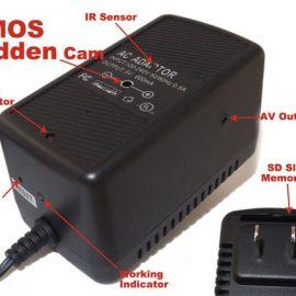 Evertech AC Power Adapter Hides a HD Camera